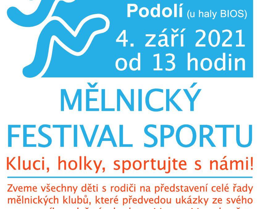 MĚLNICKÝ FESTIVAL SPORTU 2021